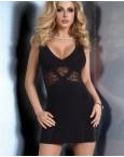 Сексуальное черное платье