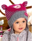 Комплект шапочка и шарфик 2 цвета